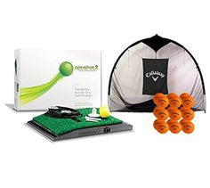OptiShot 2 Home Simulator Bundle | Includes Callaway 7-foot Hitting Net & 18 HX Practice Balls. Post your best score. Ever. OPTISHOT2 GOLF SIMULATOR is the world's number one.The award-winning OptiShot2 Golf Simulator unites the latest technology with ease of use.