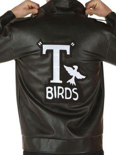 Movie Grease Danny John Travolta T-Bird Jacket