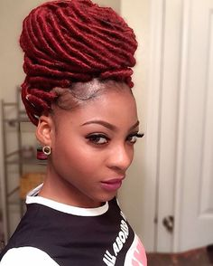 dreads hairstyles for prom collections