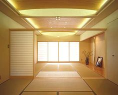 It would be great to have a room that utilizes tatami mats.