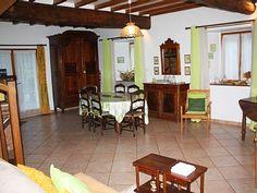 Location vacances chalet Argeles Gazost: Séjour et espace repas - Living/dining room