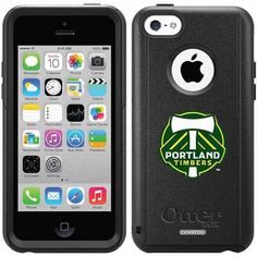 Portland Timbers Emblem Design on OtterBox Commuter Series Case for Apple iPhone 5c