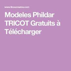 Modeles Phildar TRICOT Gratuits à Télécharger