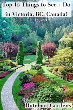 15 Things to Do in Victoria, British Columbia, Canada - Styled to Sparkle Victoria Island Canada, Visit Canada, Visit Uk, Vacation Places, Honeymoon Places, Stuff To Do, Things To Do, Victoria British Columbia, California Garden