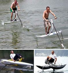fast paddle boat | Overboard: 15 Creative & Offbeat Canoes, Kayaks & Boats