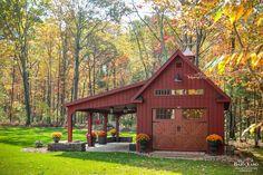 Pole Barn Builders, Building A Pole Barn, Pole Barn House Plans, Barn Garage, Garage Doors, Garage Pergola, Garage Cabinets, Garage Art, Dream Garage