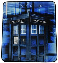 """Doctor Who Blanket Blue Police Box TARDIS Blue Bedding Comforter Pillows Bedroom Doctor Who Blanket Prism Tardis Throw Dimensions - Approximately 50"""" x 60"""" (127cm x 152cm) Officially Licensed Doctor Who Blanket A Great Item For Any Whovian Cozy up with this super soft Doctor Who Blanket Prism Tardis Velveteen Throw FeedBack If there is a problem, let's work together to resolve it. Please contact us before opening a case or leaving poor feedback. I have always been extremely fair and try to…"""