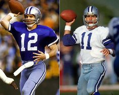 Image detail for -... ! / My first two QB's for Dallas. Roger Staubach and Danny White