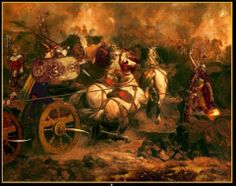 """LÍATH MACHA & DUB SAINGLEND were the """"Grey of Macha"""" and the """"Black of Saingliu"""". They are the two chariot-horses of the hero Cúchulainn in the Ulster Cycle of Irish mythology."""