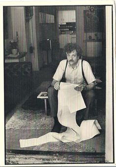 Kurt Vonnegut via Paris Review