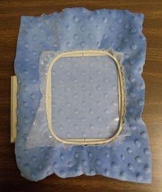 Fabrics 101: Embroidering On Microfiber Plush