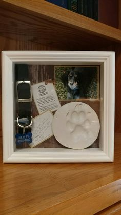 Enjoy exclusive for Rainbow Bridge Pet Memorial Picture Frame Willow Family Tree Cat Picture Frame Collages Wall Shadow Box Display Case Pet Loss Sympathy Family Gift Grandmother online – Youllfindoffer Dog Shadow Box, Shadow Box Memory, Dog Crafts, Paw Print Crafts, Animals And Pets, Cute Animals, Pet Remembrance, Dog Memorial, Memorial Ideas