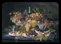 Still Life: Fruit Severin Roesen (American (born Prussia), Boppard-am-Rhein 1816–72?)