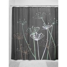 InterDesign Thistle Shower Curtain - Walmart.com