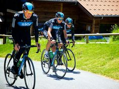 Team Sky | Pro Cycling | Photo Gallery | Dauphine training camp gallery | Danny Pate