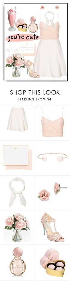 """""""Would you be my valentine?"""" by ellina64 ❤ liked on Polyvore featuring NLY Trend, Joie, Ted Baker, Chloé, 1928, Home Decorators Collection, Betsey Johnson, Bulgari and Debenhams"""