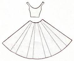 Yellow Origami Bird: Cute Dress Card Template