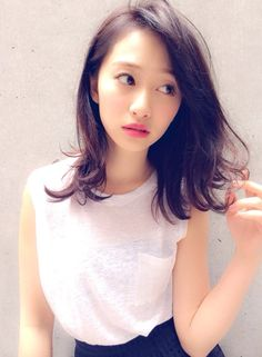 ボブディ×スウィングウェーブ 【assort】 http://beautynavi.woman.excite.co.jp/salon/25368?pint ≪黒髪・ミディアム・ヘアスタイル・medium・hairstyle・髪形・髪型≫