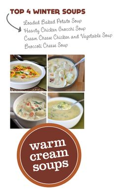 Top 4 Cream Soup Recipes for Warming Your Heart in Winter ...