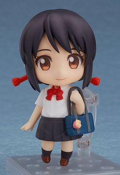 Japanese retailers today started accepting pre-orders for Good Smile Company's two new Nendoroid figures inspired by the two protagonists of Makoto Shinkai's mega hit anime film Kimi no Na Wa. Kimi No Na Wa, Film Your Name, Your Name Anime, Chibi, Mitsuha And Taki, Japanese Animated Movies, Anime Figurines, A Silent Voice, Mode Shop