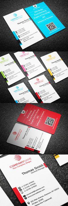Modern Business Card #businessscards #professionalbusinesscards #personalbusinessscards #creativedesign