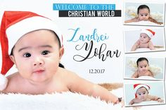 Cute and unique design Santa Baby Hi and welcome once again to this another post where you can find and get different themes a. Christening Themes, Christening Invitations Boy, Baby Boy Christening, Baby Invitations, Printable Invitations, Invitation Layout, Invitation Background, Birthday Tarpaulin Design, Peppa Pig Birthday Outfit