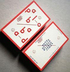 一度見たら忘れられないインパクトのある個性的なデザインの名刺30枚 - GIGAZINE