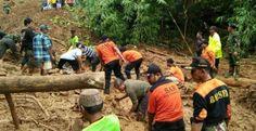 Longsor Terjang Tiga Kecamatan di Sukabumi