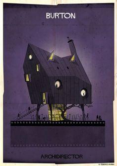 Wenn Regisseure Architekten wären – Ein Gebäude in den Stilen von 27 Filmemachern
