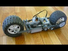A working prototype of a motorized motorbike :) It can also drive when upside down, though its not as stable. Monster Bike, Monster Trucks, Lego Machines, Lego Stuff, Lego Technic, Lego Ideas, Robotics, Hobbies, Youtube