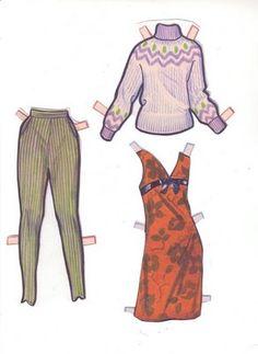 Bonecas de Papel: sixties