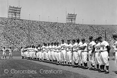 Los Angeles Dodgers 1958 Line Up by CorombesCreations on Etsy, $35.00