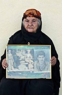 """""""Desaparecidos"""". Irak . Sity Ali, madre de Rafeeq Sleman y Akram Sleman (13 años), desaparecidos el 31 de julio de 1983 en el Valle de Barzan (Iraq)"""