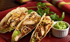 Chicken Tacos. Your family will love this recipe, which can also be made into a salad!