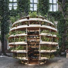 """Free Open Source DIY Plans For A Sustainable """"Indoor Garden"""" For Urban Living..."""