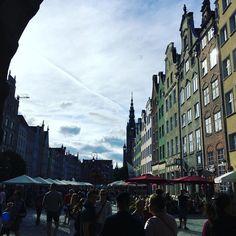 Joining a free walking tour through #gdansk with #DynamiteKate @freewalkingtourpoland Thanks for the excellent tour! Walking Tour, Poland, Street View, Tours, Free