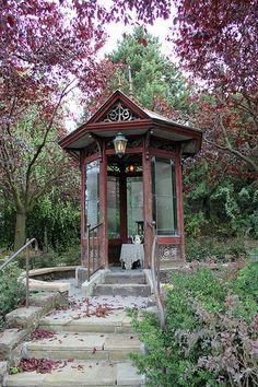 Phantom Manor porch