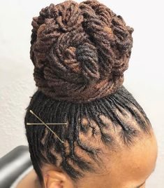 Dreadlock Styles, Dreads Styles, Dreadlock Hairstyles, Protective Hairstyles, Cool Hairstyles, Female Dreadlocks Styles, Hairstyle Ideas, Natural Hair Care, Natural Hair Styles