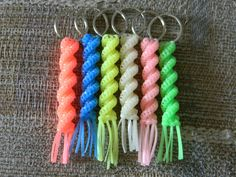 StitchST: Boondoggle Cork Screw Key Chain