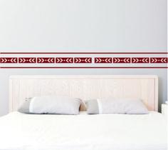 Vinilo decorativo cenefa 8 #vinilo #vinilodecorativo #cenefasdecorativas #devinilos #devinilosvinilocenefa8 Bed Pillows, Pillow Cases, Home Decor, Environment, Kids Rooms, Living Room, Vinyls, Yurts, Pillows