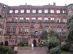 Image detail for -Heidelberg Castle's Courtyard