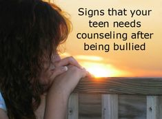 Bullying Awareness: How to Determine if Your Child Needs Counseling After Being Bullied What is really, really sad is that in my child's case he was a old Grader of Unprovoked Physical Bullying by a Grader, NOT a TEEN! Parent Handbook, Mental Health Counseling, School Counseling, Scripture Memorization, Time Series, Stop Bullying, Welcome To The Family, Christian Parenting, Flirting Quotes