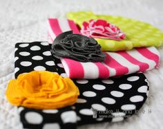 Baby Hats Make It and Love It!  This site is filled with cute baby ideas you can make