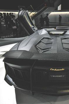 Badass Mansory Aventador Carbonado. Click to see more photos like this...