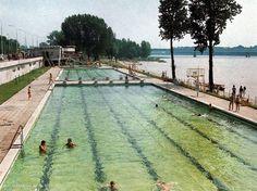Baseny Warszawskich Ośrodków Wypoczynku Wisła, lata 70.