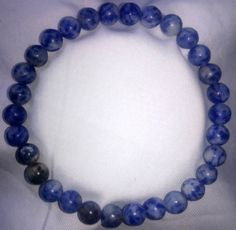 Blau Jaspis Armband Bracelet