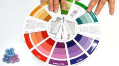 Círculo cromático: Cómo combinar colores
