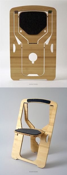 Folding Chair by Leo Salom