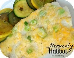 Heavenly Halibut . . . this recipe is delicious and even my kids will eat it when I prepare it this way! From sixsistersstuff.com #fish #recipe