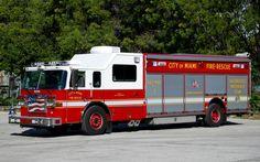 Miami Fire Department | Miami Fire RescueHaz-Mat 12008 Pierce LancePhoto by: Alex M. Poitevien ...